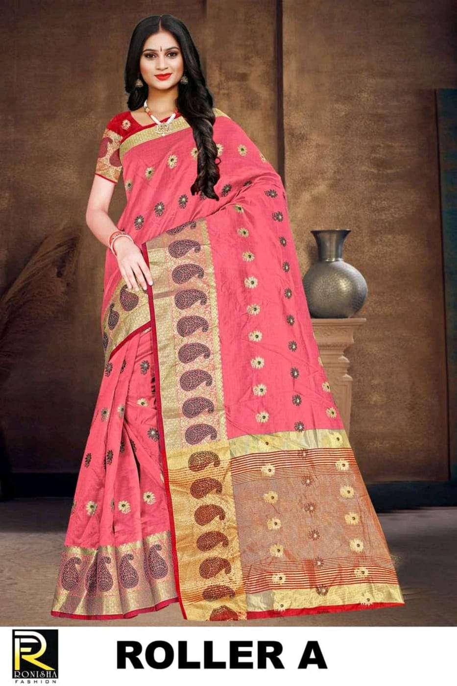 Roller by ranjna saree casual wear soft cotton silk saree collction