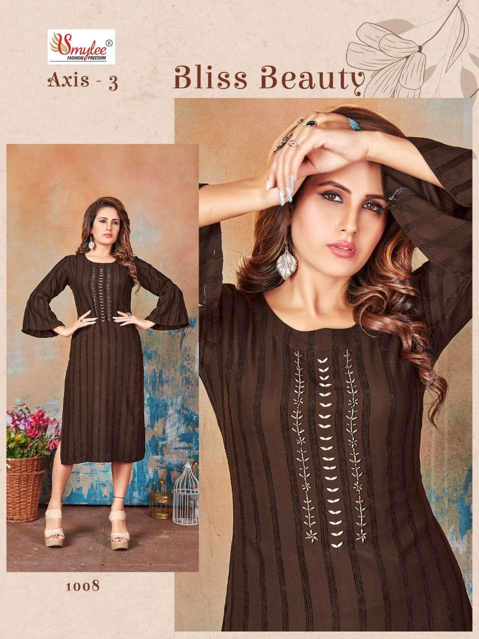 rung axis vol 3 bombay velvet simple wear fancy kurti