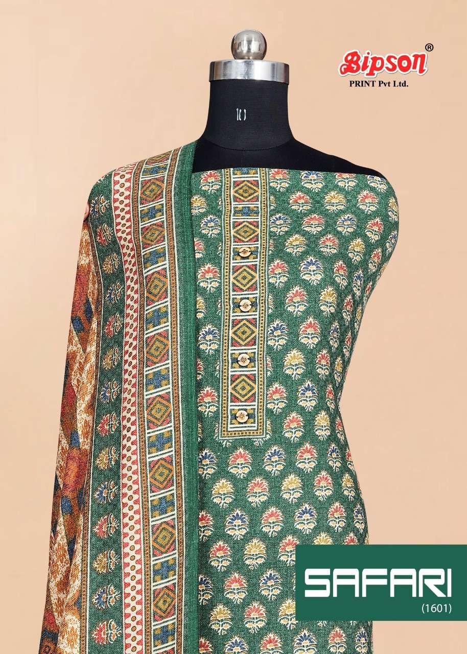 safari 1601 by bipson pashmina winter dress materials