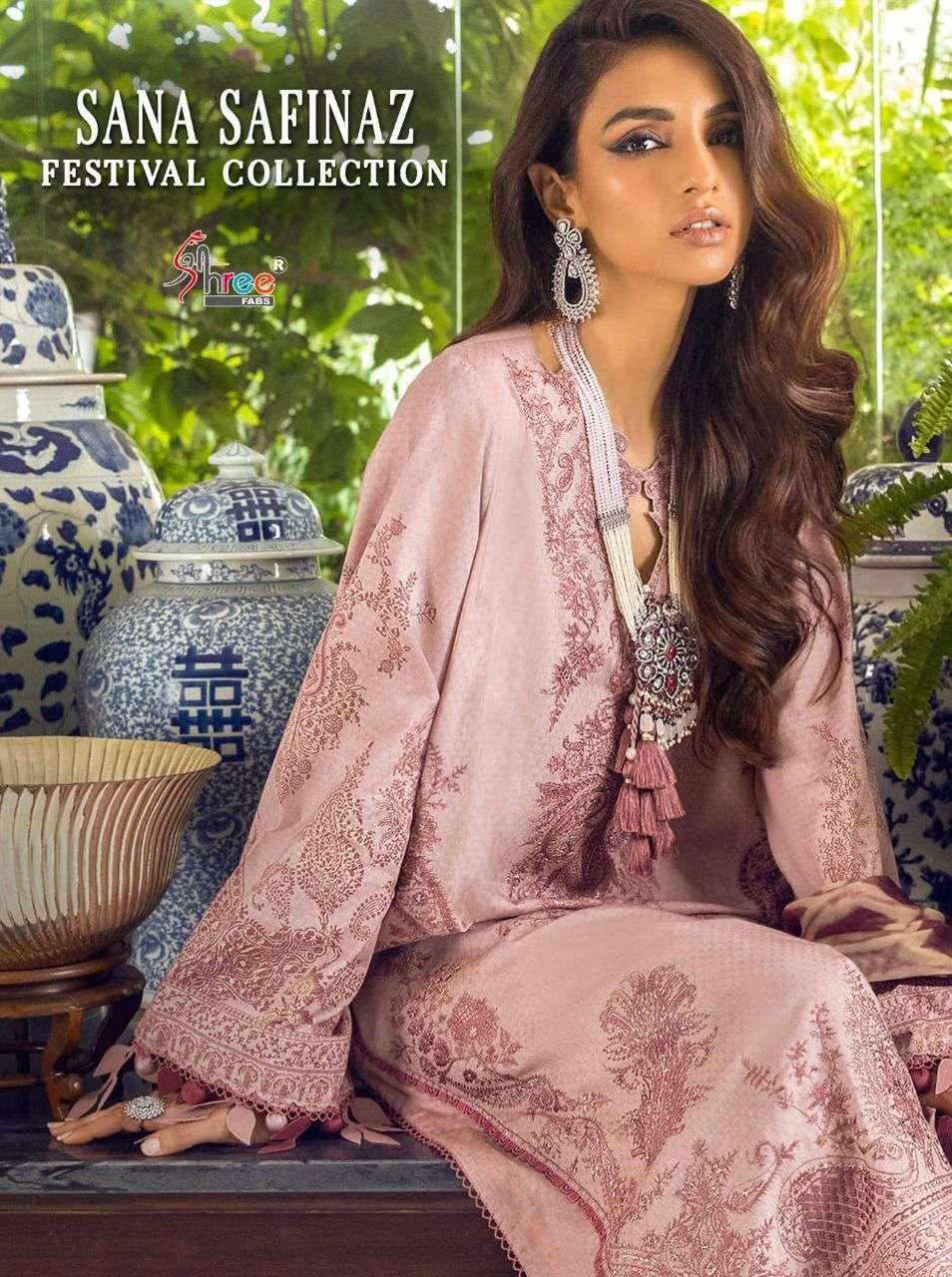 sana safinaz festival by shree fabs cotton embroidery pakistani dresses