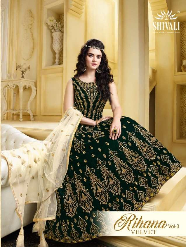 shivali fashion launch rihanuma vol 3 party wear collection of designer kurti