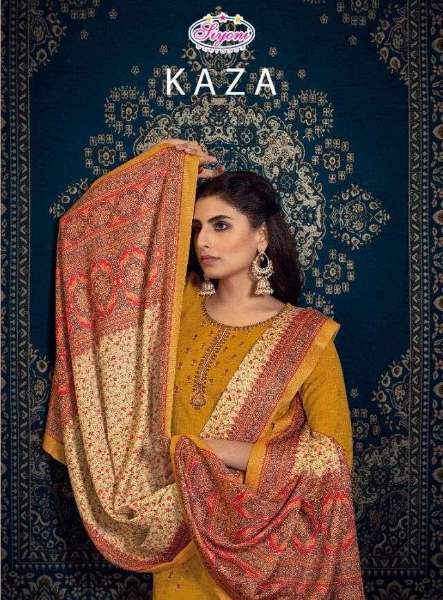 siyoni kaza wool pashmina winter dress materials