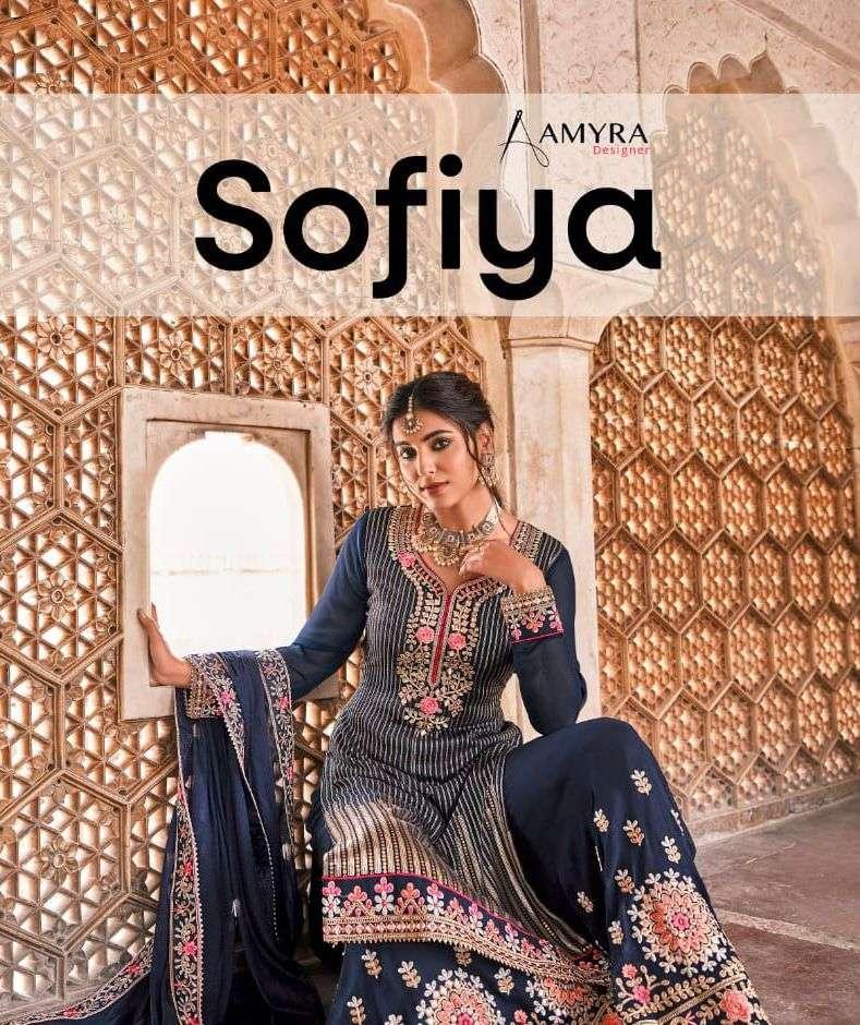 sofiya by amyra georgette sharara fancy heavy salwar kameez