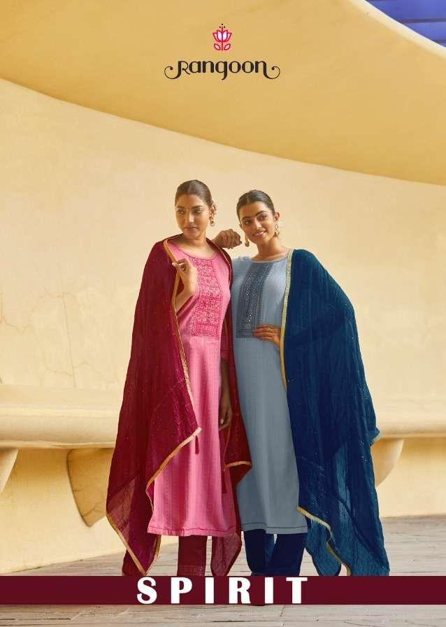 spirit by rangoon silk readymade fancy salwar kameez
