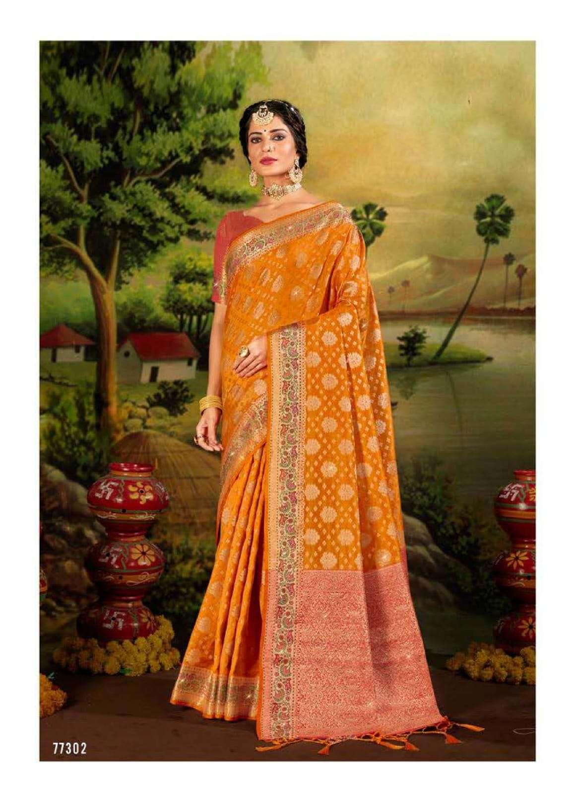 sudha silk by lifestyle lichi silk traditional wear fancy saree