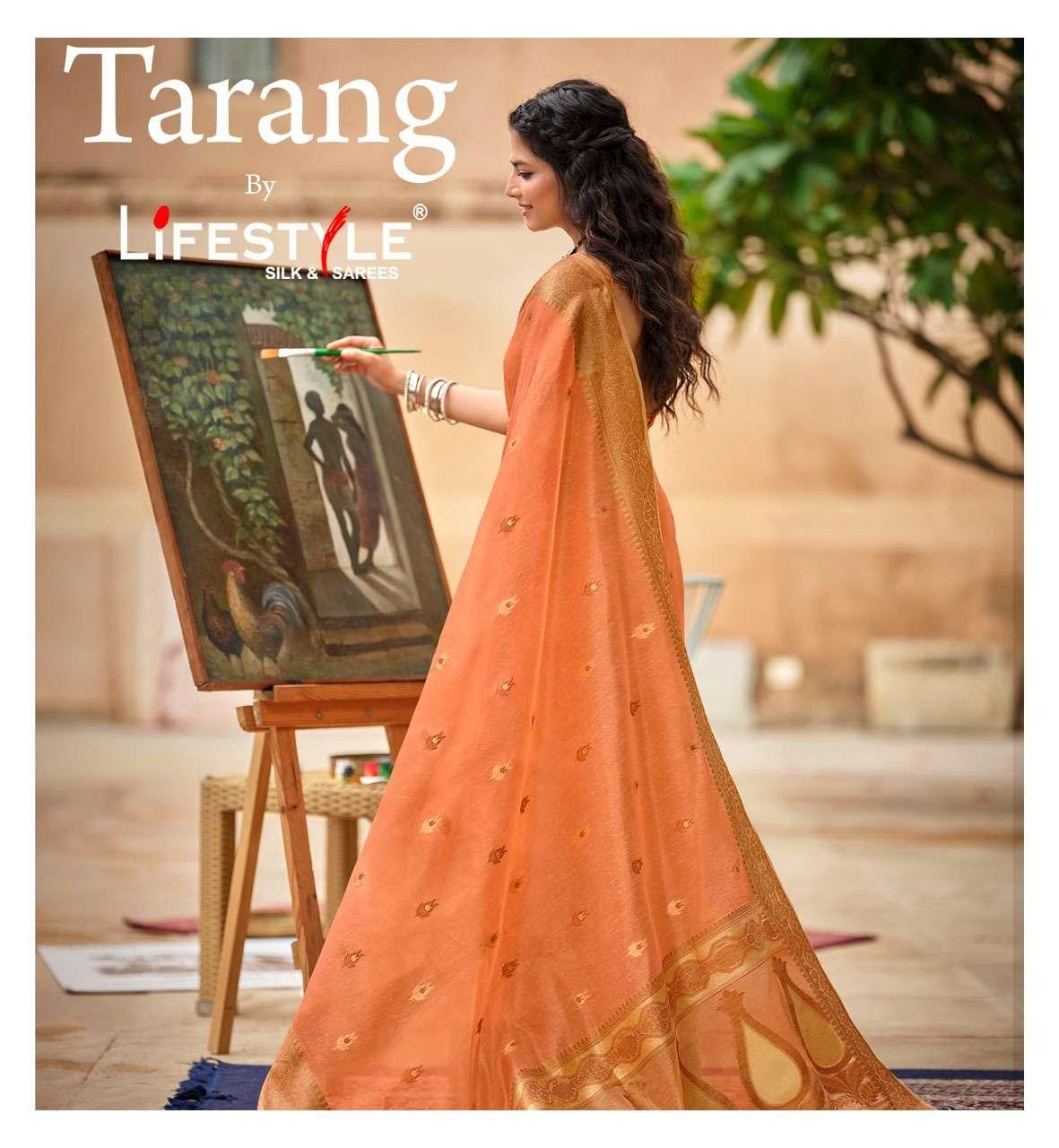 tarang vol 1 by lifestyle cotton printed ethnic range of saree