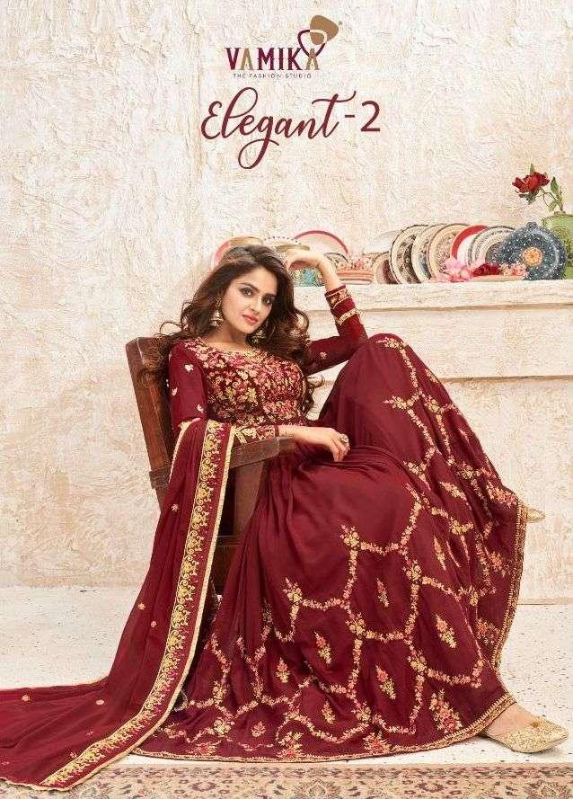 vamika elegant vol 2 anarkali heavy long designer readymade dresses for women
