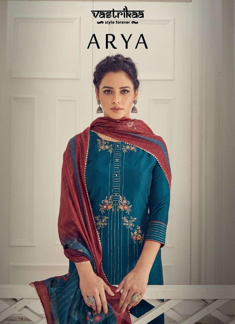 vastrikaa arya designer kurti with pant and dupatta