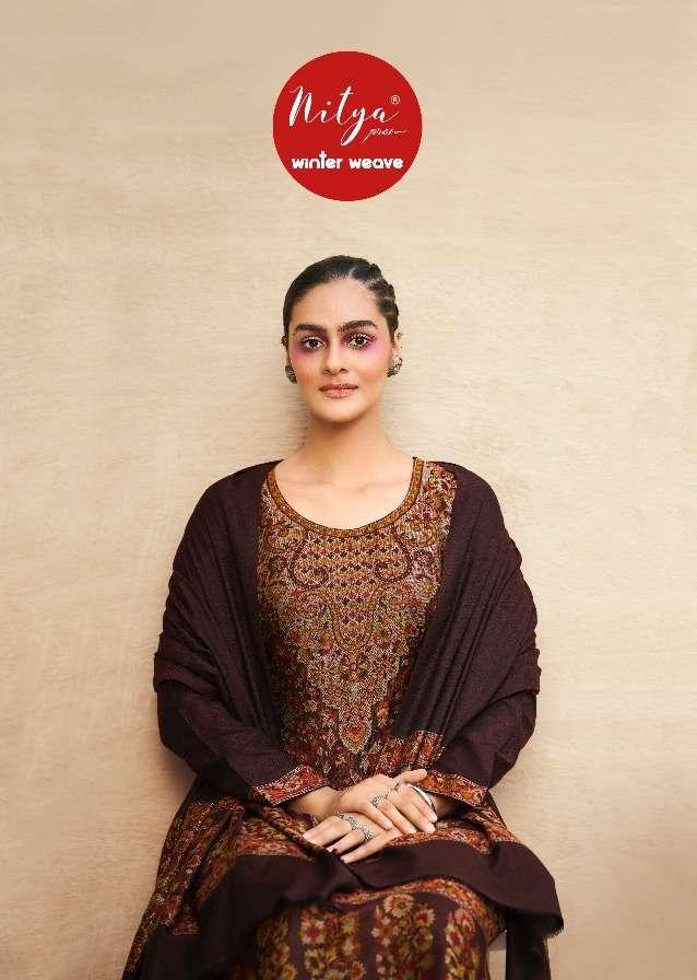 winter weave by lt nitya pashmina salwar kameez