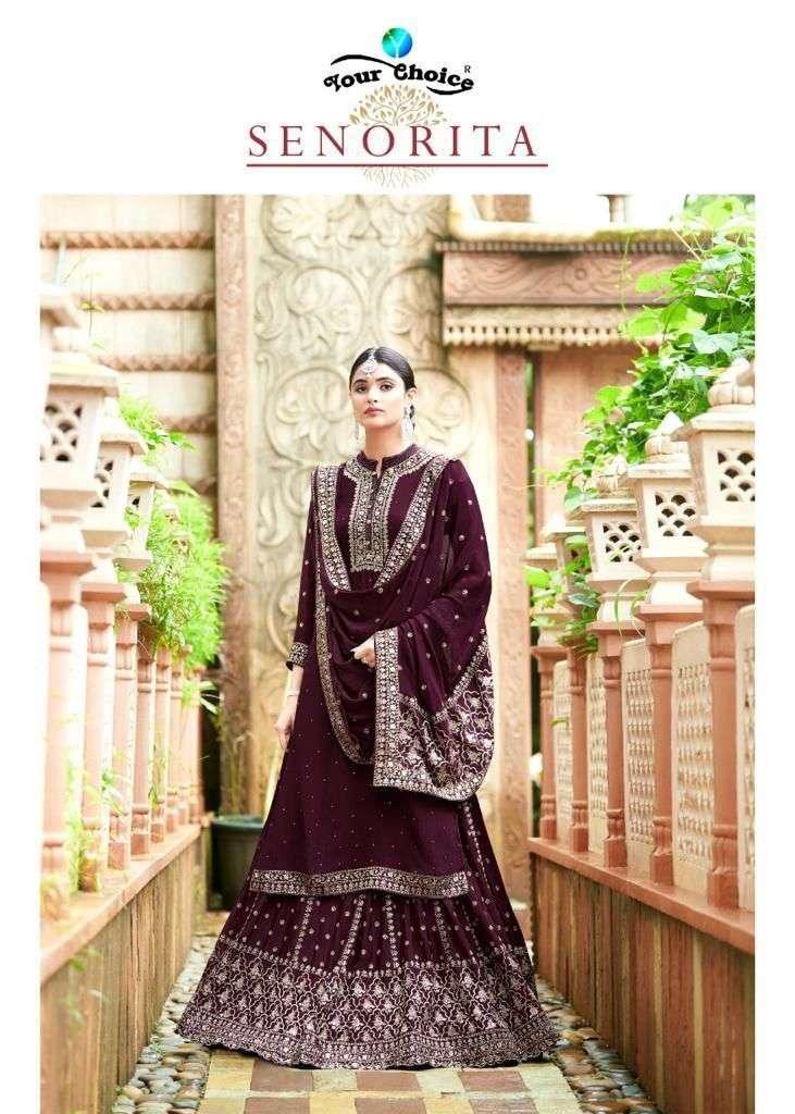your choice senorita party wear salwar kameez