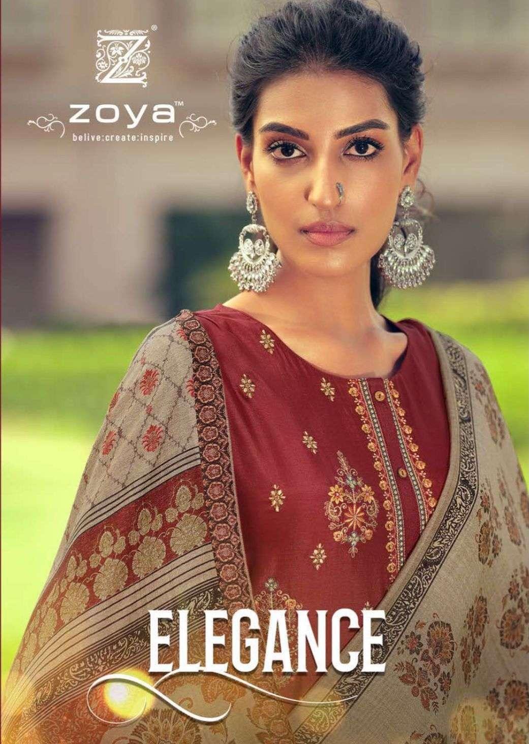 zoya elegance russian silk exclusive fancy salwar kameez